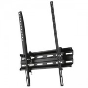 Стенна стойка за TV HAMA 118105, фиксирана, наклон 0/10 градуса, 32-65 инча, 35 кг, VESA 400, 1 звезда, черен