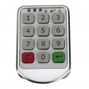 Zilver Metalen Digitale Elektronische Wachtwoord Toetsenbord Aantal Kast Code Sloten Intelligente Kast Lock MyXL
