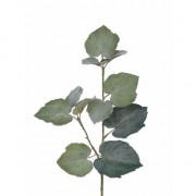 Merkloos 5x Kunstplant Linde Tilia bladgroen takken 50 cm groen
