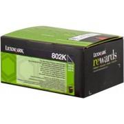 Lexmark 802K Tóner negro Original 80C20K0