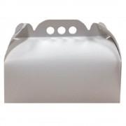 Cutii Albe pentru Tort CT5, 29x39 cm, 25 Buc/Bax, Carton Duplex - Ambalaje Cofetarie