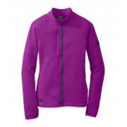 Outdoor Research Women's Radiant Hybrid Jacket - Ultraviolet/Night - Fleecejacken L