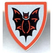 LEGO Fright Knights LOOSE Shield Small Bat Shield