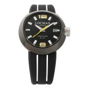 【67%OFF】ラウンドウォッチ デイト表示 取替ベルト付 ケース:ブラック ベルト:ブラック、イエロー ファッション > 腕時計~~メンズ 腕時計