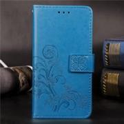 Mobigear Bloemen Wallet Case Blauw Nokia 8.1