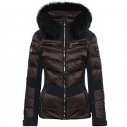 Toni Sailer Women's Jacket Maria Fur deer brown