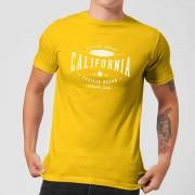Native Shore Men's California T-Shirt - Yellow - L - Yellow