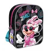 Ghiozdan Minnie Mouse, 1 compartiment, 31x25x10 cm