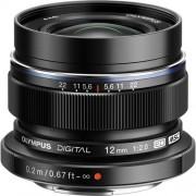 Olympus 12mm F/2.0 ED M.ZUIKO - NERO - 4 ANNI DI GARANZIA