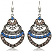 Sanaa Creations Multi-Colour Alloy Dangle Drop Earrings Fancy Party Wear for New Year Special offer Women and Girls