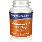 Simply Supplements Vitamina B12 1000µg - 120 Comprimidos