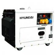HYUNDAI DHY6000SE Generator de sudura monofazat, 10CP, Diesel