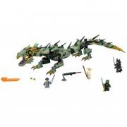 Robotul balaur Ninja Verde 70612