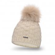 Standardowa czapka damska kostka PaMaMi - Beżowy