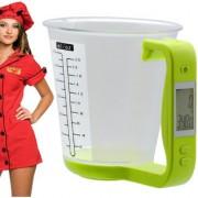 Digital Liquid Kitchen Diet Weight Weighing Food Scale 600 ml 550 Gram with Bowl - 46 A