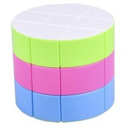 AGAMI 3x3 Barrel Magic Cube, Highly Stable and High Speed Puzzle Cube