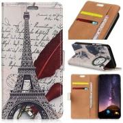 Huawei P30 Lite Portemonnee Hoesje met Print Eiffel Tower