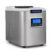 Klarstein ICE6 ICEMEISTER, устройство за приготвяне на кубчета лед, 12 кг / 24 ч., От неръждаема стомана, БЯЛ (ICE6-Icemeister-W)