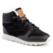 Обувки Reebok - Cl Lthr Arctic Boot DV7233 Black/Purple/Chalk/B