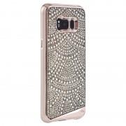 CaseMate Brilliance Case - кейс с висока защита и кристали за Samsung Galaxy S8 Plus (златист)