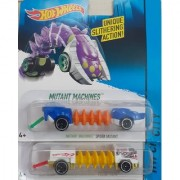 Hot Wheels SPIDER MUTANT + POWER TREAD ( set of 2 pcs) (Blue White)