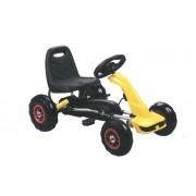 ODG Go Cart Go Kart Per Bambini A Pedali Giocattolo Cavalcabile Giallo