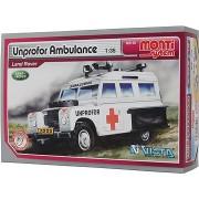 Monti system 35 - Unprofor Ambulance Land Rover, 1:35 méretarány