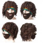 Sombrero hecho a mano hombres y mujeres sombrero de mimbre - marron