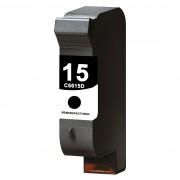 Съвместима черна мастилена касета C6615DE, HP 15 /15/ - Black