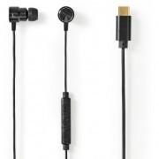 Nedis HPWD2070BK vezetékes headset, fekete