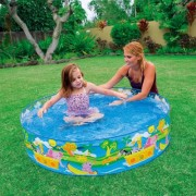 Piscina copii happy animals 122x25cm