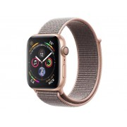 Умные часы APPLE Watch Series 4 40mm Gold Aluminium Case with Pink Sand Sport Loop MU692RU/A