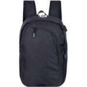 FLYLEAF Lightweight Casual Laptop Backpacks with USB Charging Port31-Ltr Waterproof Backpack(Black, 32 L)