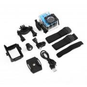 EB SJ60 Waterproof 4K Wifi HD 1080P Ultra Cámara De Acción Deportiva DVR Cam Camcorder-Blue