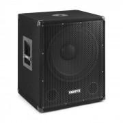 """Vonyx SMWBA15 Subwoofer PA activo de 15"""" 600 W máx. BT MP3 Conexión brida (Sky-170.812)"""