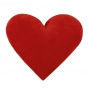 Față mică de pernă Inimă roșie, 42 x 48 cm