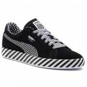 Сникърси PUMA - Suede Classic Pop Culture 367776 02 Puma Black/Puma White