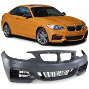 Paraurti anteriore TUNING look M235 per BMW Serie2 F22 F23 Coupè Cabriolet 2013 2014 2015 2016 2017 per lavafari per sensori griglie lama spoiler no fendinebbia