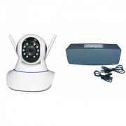Mirza Wifi CCTV Camera and Box-2 Bluetooth Speaker for SAMSUNG GALAXY J 1 4G(Wifi CCTV Camera with night vision |Box-2 Bluetooth Speaker)