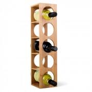Rack No. 3 wijnrek uit bamboe -stapelbaar