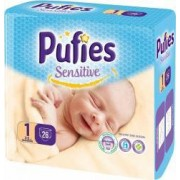 Scutece Pufies Sensitive Newborn 26 Bucati 2-5 kg