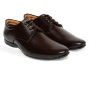 V2 RETAIL LIMITED Lace Up For Men(Brown)