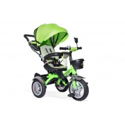 Tricikl Playtime sa rotirajucim sedištem (Model 408 LUX zelena)