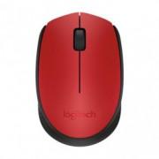 LOGITECH miš M171 wireless red