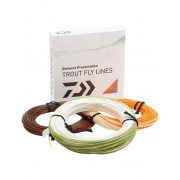 Fir musca Daiwa orange Fly Line plutitor WF clasa 6