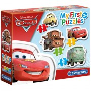 Puzzle 4 in 1 Cars Clementoni 30 piese