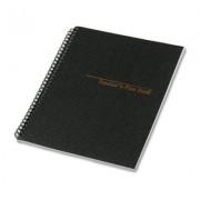 Teacher's Plan Book, 40-Week Period, 11 X 8-1/2, Black, 112 Pages