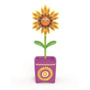 Set floare Magic Bloom si gandacel - ghiveci mov