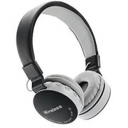 Vinimox Wireless/ Bluetooth Headphone With Fm And Sd Card Slot compatible to all android phones.