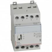 Contactor pe sina DIN CT 230V 4NC 63A cu maneta Legrand 412557